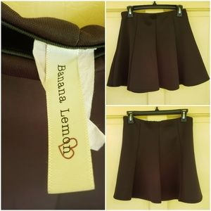 Dresses & Skirts - Banana Lemon Scuba/ Neoprene Swing skirt